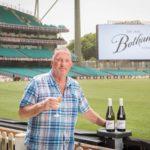 Sir Ian Botham at the SCG in Sydney Australia to launch Botham Wine in Australia