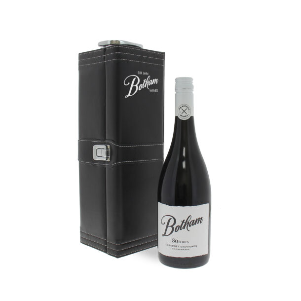 Botham80 seriesCabernet Sauvignon in a hand embossed leather gift case