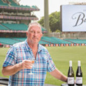 English cricket legend Sir Ian Botham OBE goes into bat for Australia with his new range of Australian wines