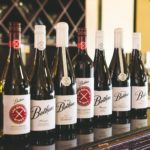 a line up of all the Botham wines Nov 2018
