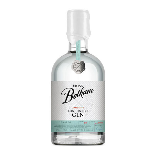 Sir Ian Botham Small Batch London Dry Gin