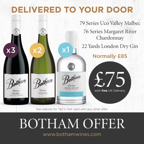FREE WINE DELIVERED SERIES AND GIN OFFER
