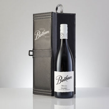 Botham 79 Series Uco Valley Malbec in Leather case