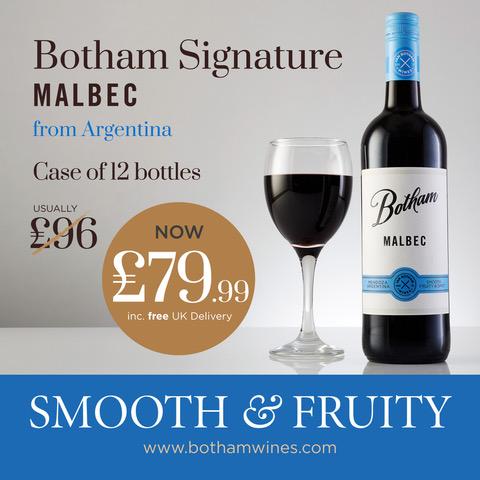 Botham Signature Malbec offer