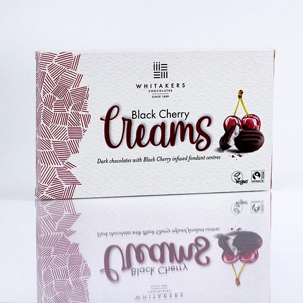 Whittakers Black Cherry Creams Chocolates