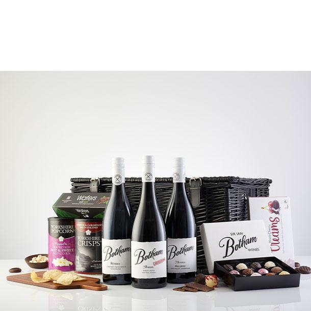 Premium Black Range Botham Wine hamper