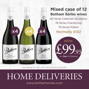 Botham Series Malbec Cabernet Sauvignon and Charrdonnay