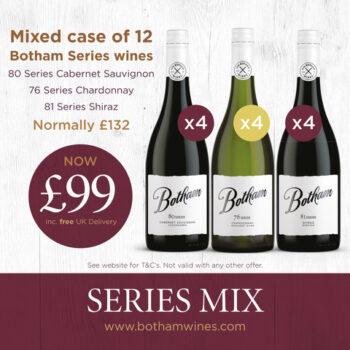 Autumn case of Series wines
